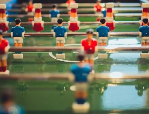 9 settembre. Torneo di calcio balilla umano!