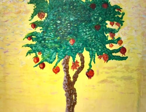Al Niguarda l'albero del donatore è anche un quadro!